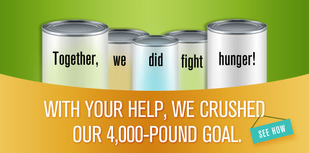 Together, We Did Fight Hunger!