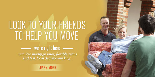 Look to your friends to help you move.