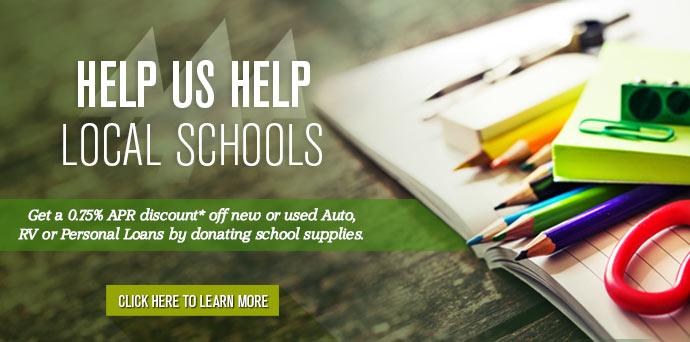 Help us help<br />local schools